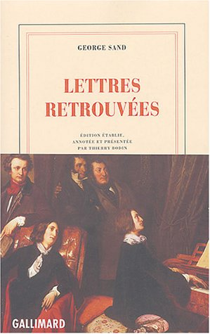 Lettres retrouvées