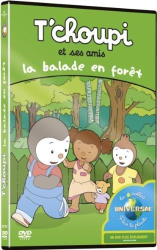 t'choupi et ses amis - la balade en forêt