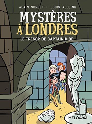 3/mysteres a londres  - le tresor de captain kidd