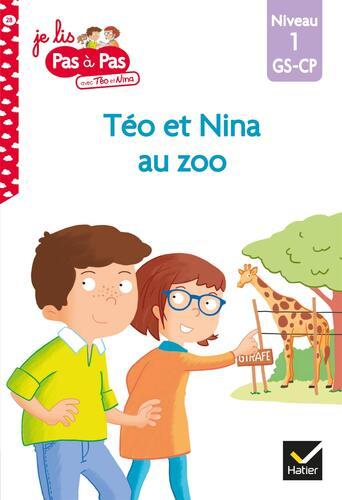 téo et nina au zoo / niveau 1, gs-cp