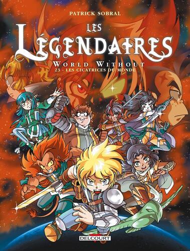 légendaires world without (les) t.23 les cicatrices du monde