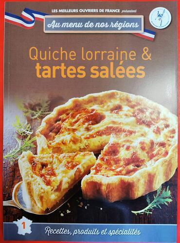 quiche lorraine & tartes salées