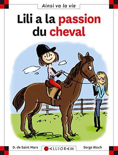 lili a la passion du cheval